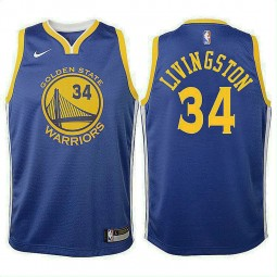 Youth Shaun Livingston Golden State Warriors Icon Royal Swingman Jersey