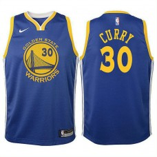 Youth Golden State Warriors #30 Stephen Curry Royal Icon Jersey