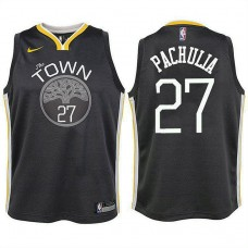 Youth Golden State Warriors #27 Zaza Pachulia Statement Jersey
