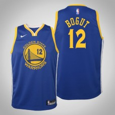 Youth Golden State Warriors #12 Andrew Bogut Icon Jersey