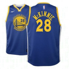 Youth Golden State Warriors #28 Alfonzo McKinnie Icon Jersey
