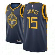 Youth Golden State Warriors #15 Damian Jones City Jersey