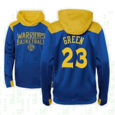 Youth Golden State Warriors #23 Draymond Green Royal Outerstuff Off The Court Hoodie