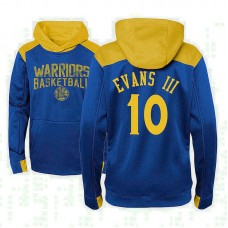Youth Golden State Warriors #10 Jacob Evans III Outerstuff Off The Court Hoodie