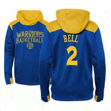Youth Golden State Warriors #2 Jordan Bell Outerstuff Off The Court Hoodie