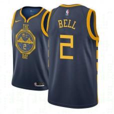 Youth Golden State Warriors #2 Jordan Bell City Jersey