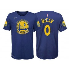 Youth Patrick McCaw Golden State Warriors #0 Icon Blue T-Shirt