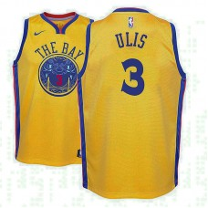 Youth Tyler Ulis Golden State Warriors City Gold Jersey
