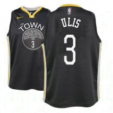 Youth Tyler Ulis Golden State Warriors Statement Black Jersey