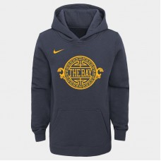Youth Golden State Warriors 2018 City Edition Pullover Hoodie
