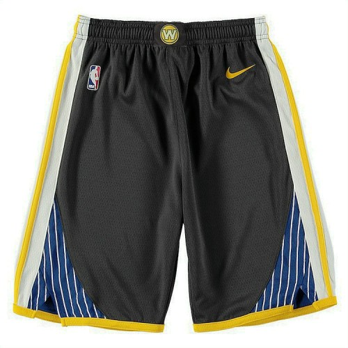 Youth Golden State Warriors Gray Statement Edition Swingman Basketball Shorts