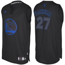 Golden State Warriors #27 Zaza Pachulia Black Fashion Jersey