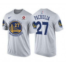 Zaza Pachulia Golden State Warriors #27 Association White T-Shirt